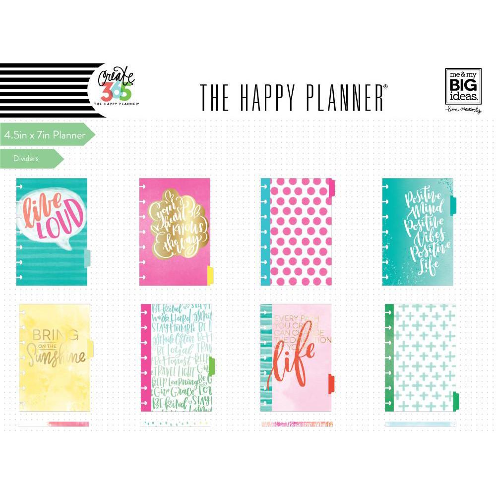 Me my big ideas create 365 mini happy planner for Me my big ideas planner