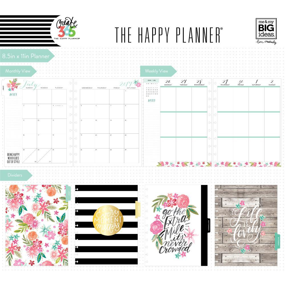 Me my big ideas create 365 happy planner big happy for Me my big ideas planner