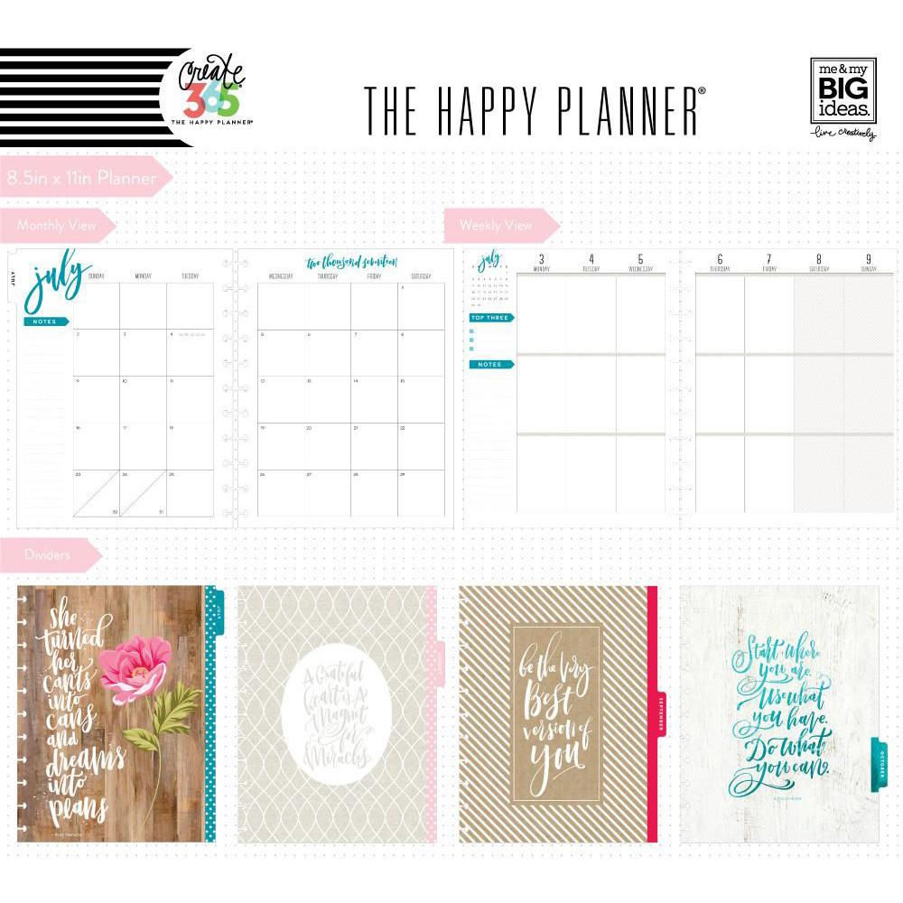 Me my big ideas create 365 happy planner big for Me my big ideas planner