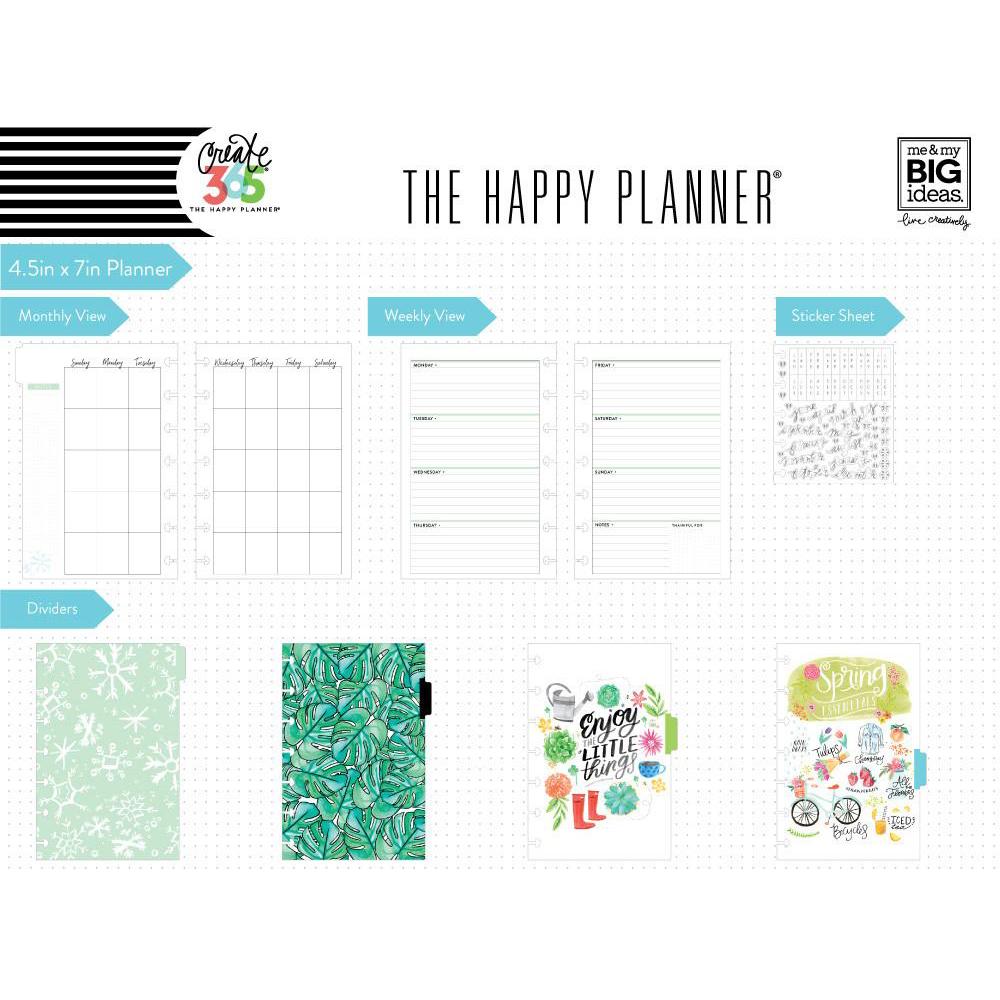 Me my big ideas create 365 happy planner mini for Me my big ideas planner