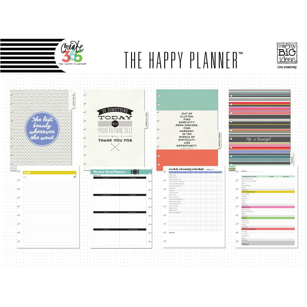 Me my big ideas create 365 happy planner extension for Me my big ideas planner