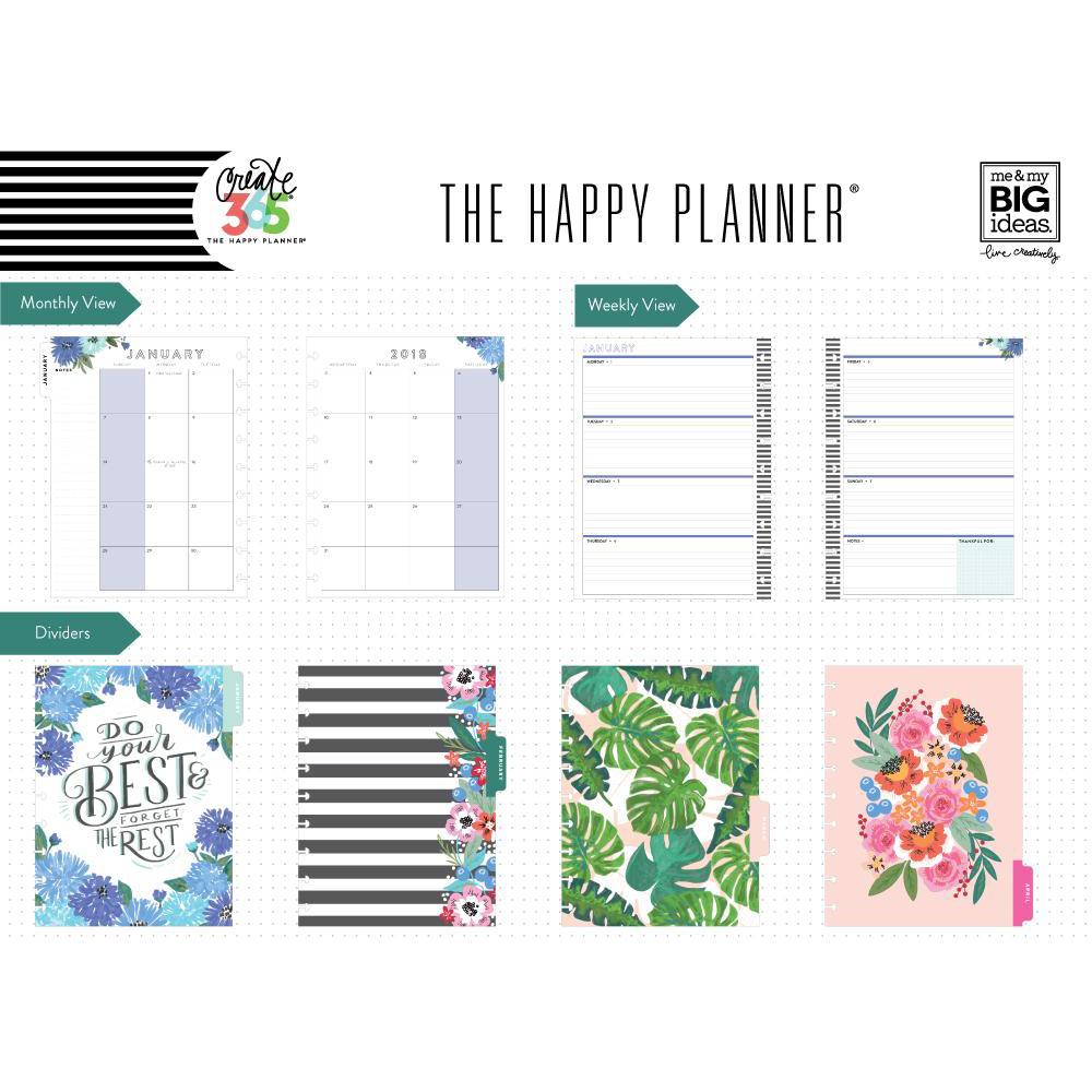 Me my big ideas create 365 happy planner classic for Me my big ideas planner