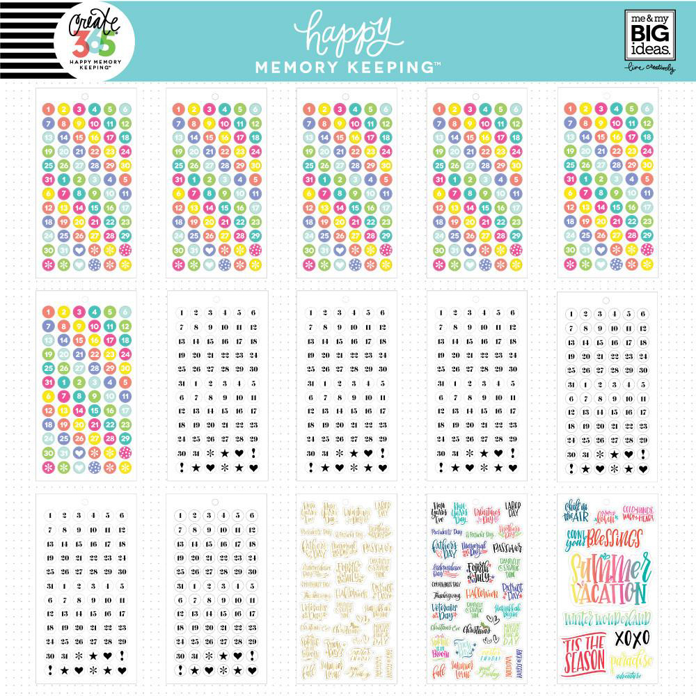 Me my big ideas create 365 happy planner memory for Me my big ideas planner